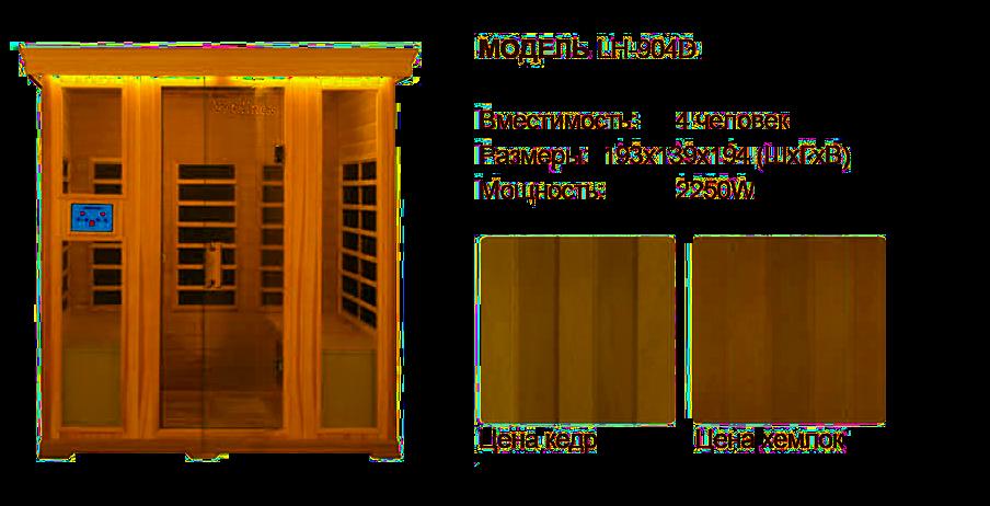 инфракрасная кабина wellness сауны