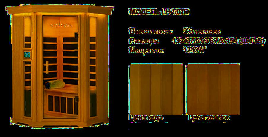 инфракрасная кабина wellness сауна